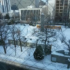 雪の大通公園