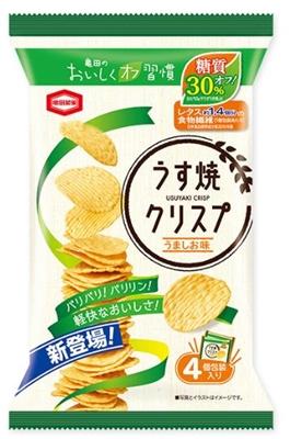 亀田の「うす焼クリスプ」