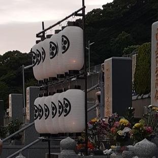 長崎のお盆提灯