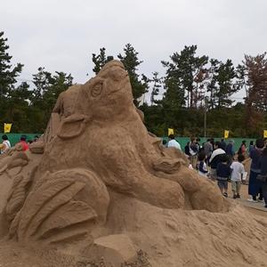 あしや砂像展2019
