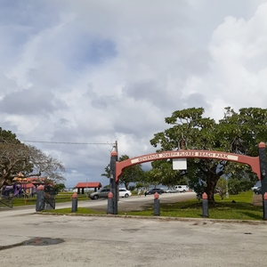 グアムイパオビーチの入口