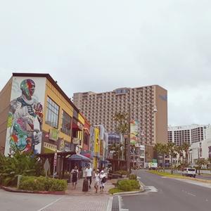 グアムの街並み