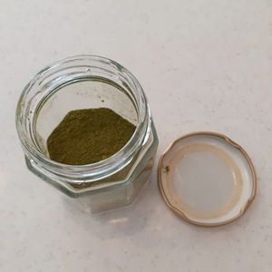 スシローの抹茶入り粉末緑茶