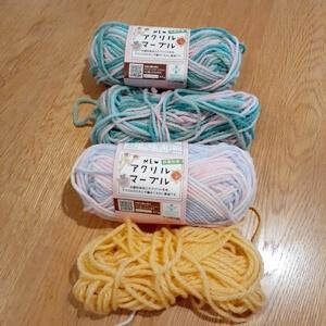 ヘッドカバーの毛糸
